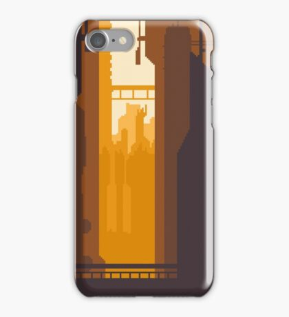 8bit Sunset iPhone Case/Skin