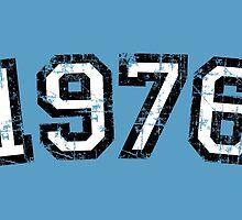 Year 1976 Vintage Birthday Anniversary by theshirtshops