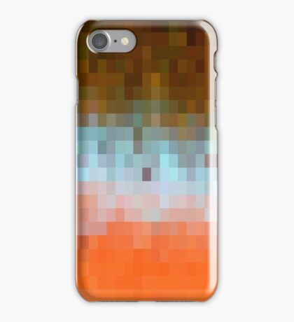Nature Pixels No 1 iPhone Case/Skin