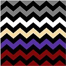 Chevron Colour Mix Collection by Ra12