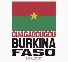 Burkina Faso represent Kids Clothes
