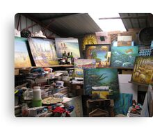 Workplace Canvas Print