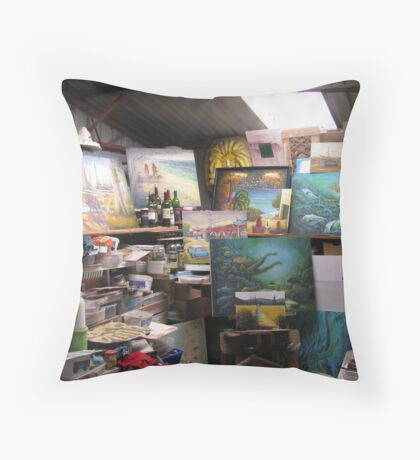 Workplace Throw Pillow