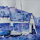 Memories of the old boatshed by © Pauline Wherrell