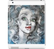 Raw Looks Abstract Woman's Face iPad Case/Skin