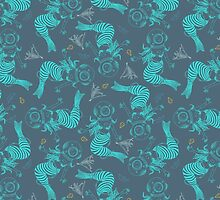 Mermaid pattern by smalldrawing