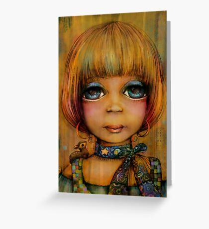 Lady Sunshine Greeting Card
