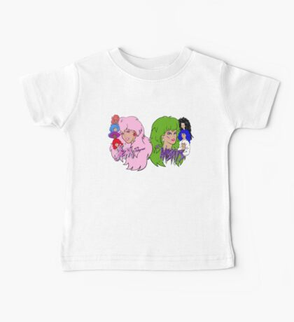 Jem and the Holograms Vs The Misfits Baby Tee