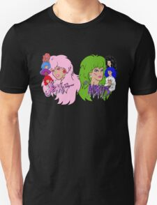 Jem and the Holograms Vs The Misfits Unisex T-Shirt