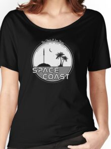 Chris and Jen Show - Space Coast - White Women's Relaxed Fit T-Shirt