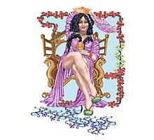 Tarot Queen of Cups  Photographic Print