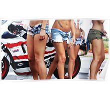 Honda Racing Poster