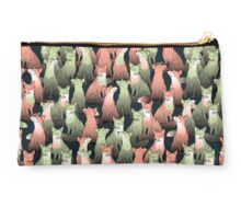 Sleeping foxes Studio Pouch