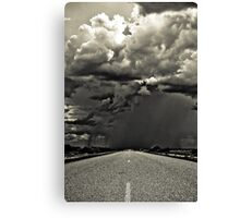 Going South, down the west coast of Australia. Canvas Print