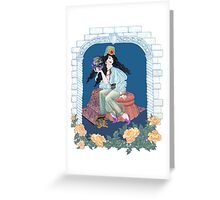 Tarot Ace of Coins/Pentacles Greeting Card