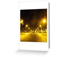 Night Lights Greeting Card
