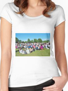 Tentertainment music festival, England Women's Fitted Scoop T-Shirt