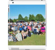 Tentertainment music festival, England iPad Case/Skin