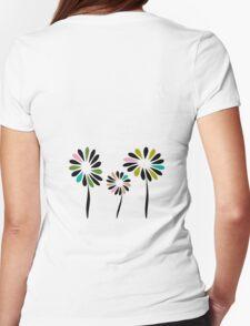 Three Flowers T Shirt T-Shirt