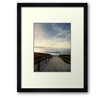 Old Bar Beach, Morning - HDR Framed Print