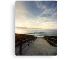 Old Bar Beach, Morning - HDR Canvas Print