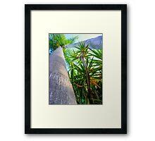 Palm Trees - HDR Framed Print