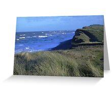 Weybourn Clifftop Greeting Card