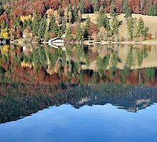 Lake Walchensee Upper Bavaria by Daidalos