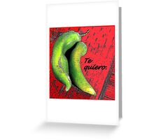 A Love Note From Mexico Greeting Card
