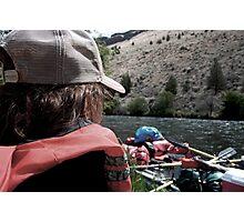 River rafting fun Photographic Print