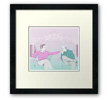 Mystrade ~ Your Majesty Framed Print