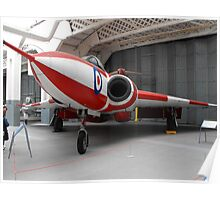 Gloster Javelin Poster