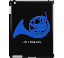 A Long Story iPad Case/Skin