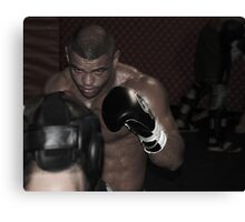UFC fighter Canvas Print