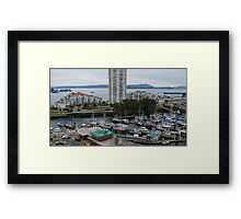 Boats Galore   Framed Print