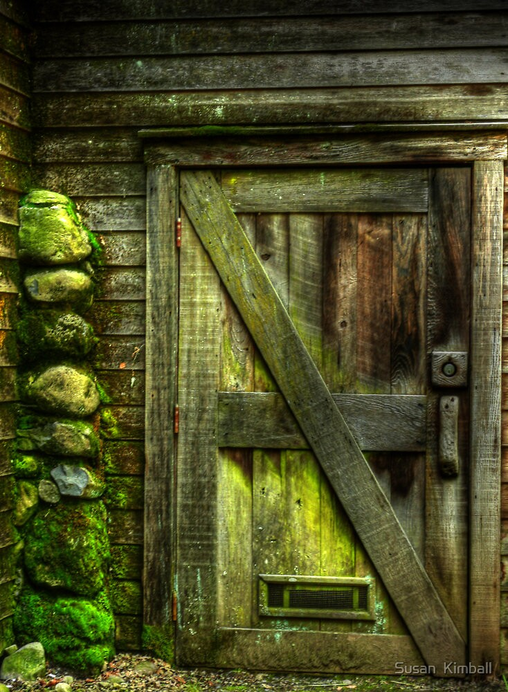 The Old Mossy Door by Susan  Kimball