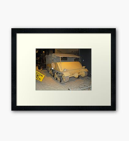 British Loyd Carrier Framed Print