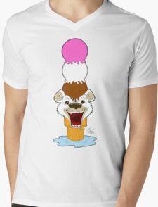 I Am Cool, I Am The Breeze. I Am The Ice Cream Bear Mens V-Neck T-Shirt