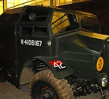 British Morris Quad Field Artillery Tractor by Andy Jordan