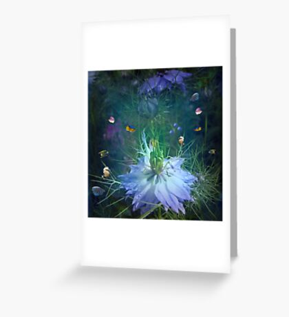 Underwater garden , or is it? Greeting Card