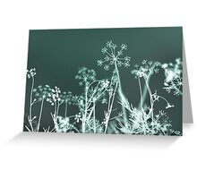 Mint Dreams Greeting Card