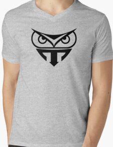 TYRELL OWL Mens V-Neck T-Shirt