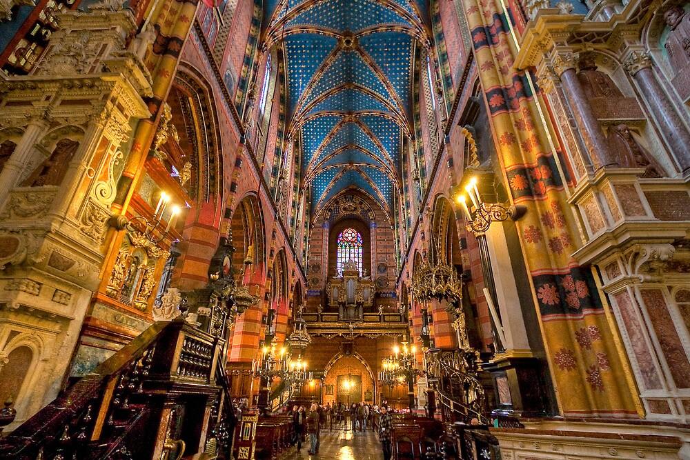 St. Mary's Basilica - Krakow, Poland by armiller007