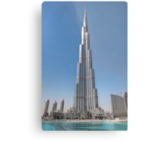 The Burj Kaliph Metal Print