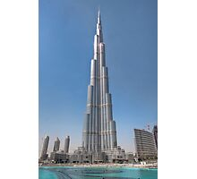 The Burj Kaliph Photographic Print