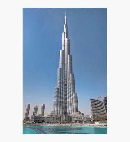 The Burj Kaliph Photographic Print