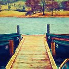 On the Jetty by Vicki Field