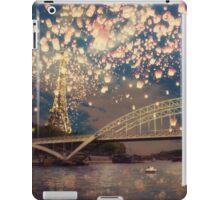 Love Wish Lanterns over Paris iPad Case/Skin
