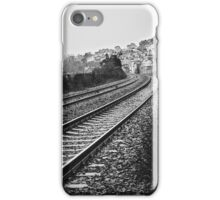 On the Right Track iPhone Case/Skin