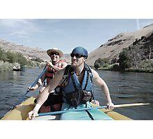 River raftin Photographic Print